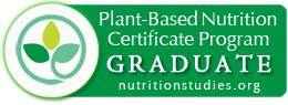 Plant-Based Nutrition Certificate Program Graduate