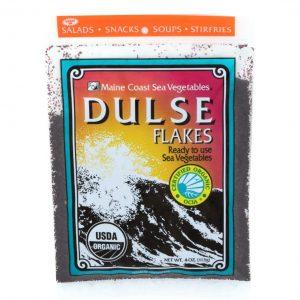 Dulse Flakes   4 oz   Organic Seaweed   Maine Coast Sea Vegetables
