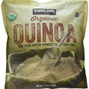 Kirkland Signature Organic Gluten-Free Quinoa From Andean Farmers To Your Table - 2.04kg., 4.5lb